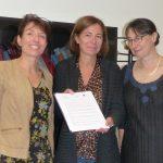 Mesdames le Bâtonnier Huot (pour le Barreau), Lapérou-Scheneider (pour le CRJFC), et Tirvaudey (pour l'UFR SJEPG)